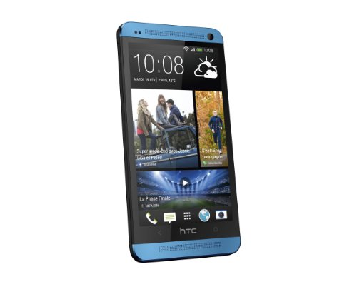 HTC One Smartphone débloqué 4G (Ecran: 4.7 pouces - 32 Go - Android 4.1 Jelly Bean) Bleu