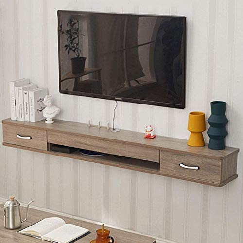 CSD TV Stand Modern Wall Mount TV Console Media Audio/Video Console TV Cabinet (Color : A-120x24x18cm)