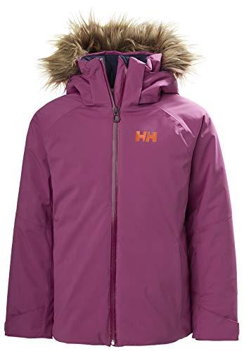 Helly Hansen JR Sapphire Jacket Abrigo de Vestir, 673 Magenta Haze, 14 Unisex niños