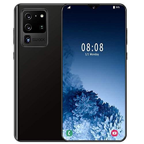 Teléfono móvil 8GB + 512GB, teléfono Inteligente S21U, teléfonos sin SIM desbloqueados 6.7 Pulgadas Pantalla Completa 4800mAh Batería 13MP + 27MP Cámara con reconocimiento Facial, WiFi, BT, FM, GPS