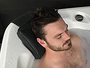 (Pack of 4) Spa Pillows (Charcoal Color) Hot Tub Weighted Headrest