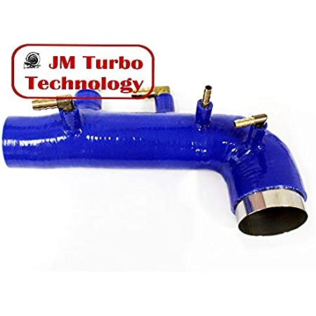 Details about  /REV9 FIT SUBARU WRX 08-14 GE GH GR GV EJ25 SILICONE TURBO INLET INTAKE HOSE BLUE