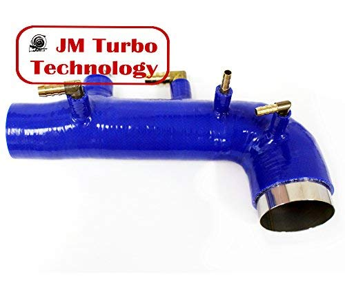JM Turbo For 02-04 Subaru Wrx Sti Ej20 Ej25 Turbo Intake Inlet Silicone Blue New