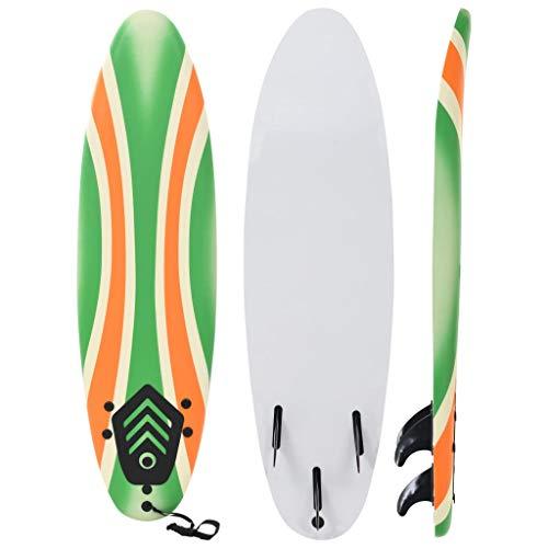 vidaXL Tabla de Surf 170 cm Boomerang Deportes Acuáticos Exterior Navegación