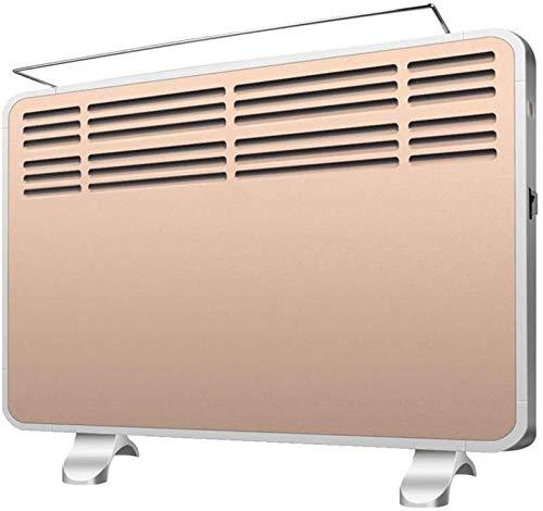 NFJ Heizstrahler Tragbare Konvektorheizung - Elektrische Heizung Für Badezimmer Im Büro Bad Niedrige Energie Wandmontage/Stehend - Space Dimplex Radiator Warm Fan (2100w)