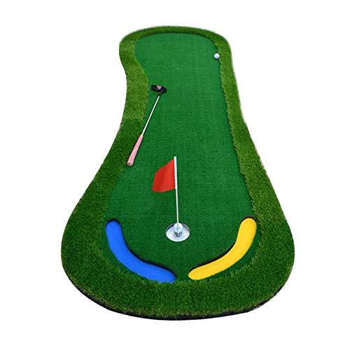 Colinas de Putting de Golf, Ejercicios de Putter Interior y al Aire Libre - Granth Greens - Manta de práctica - Mat - Ball - Match de Velocidad de Bola rápida WTZ012 (Size : 1 * 3M)