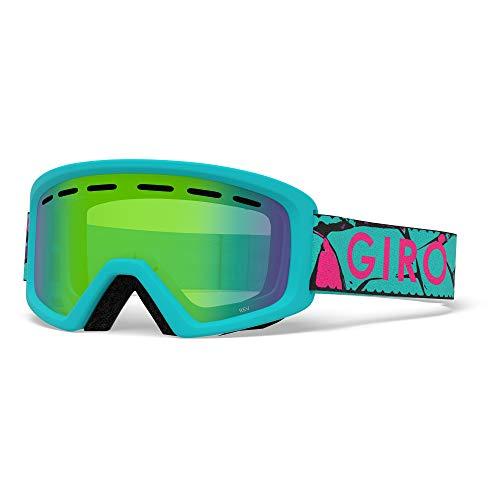 Giro Snow Unisex– Babys REV Skibrille, Glacier Rock Loden Green, Einheitsgröße