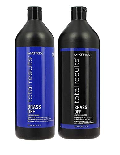 Matrix Matrix TR Brass off Shampoo 1000ml+ Conditioner 1000ml