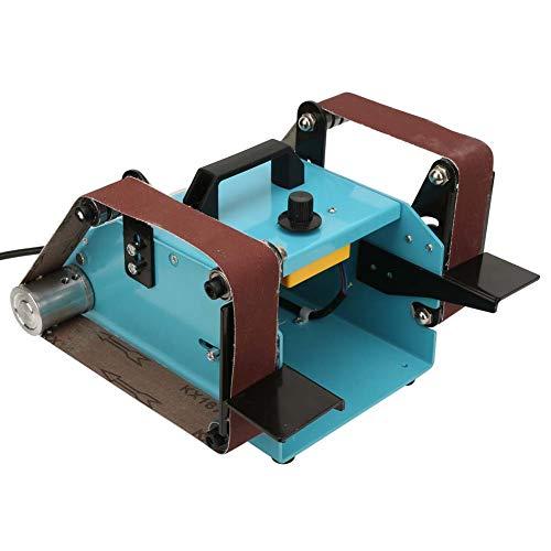 Máquina lijadora de banda, máquina lijadora de banda Máquina lijadora de banda eléctrica SERVICIO AL CLIENTE para desbarbar para quitar pintura para carpintero