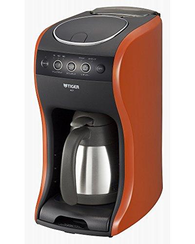タイガー魔法瓶(TIGER) コーヒーメーカー 真空 ステンレス サーバー バーミリオン カフェバリエ 4杯用 レッドACT-B040-DV