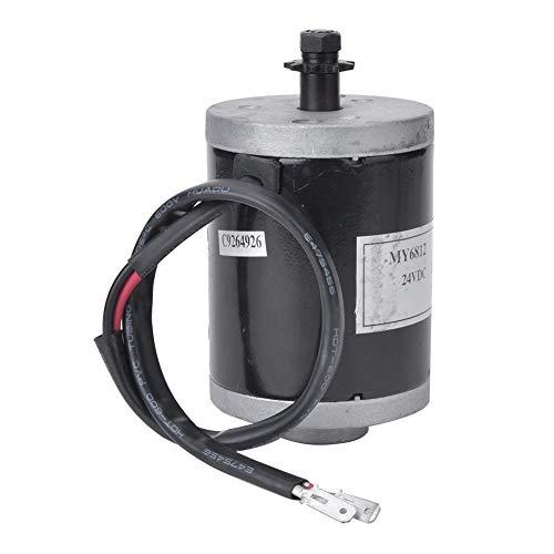 VGEBY Motor de Cepillo de Bicicleta eléctrica Motor eléctrico de Alta Velocidad Kit de Motor Motor eléctrico con polea de Correa 12V 100W