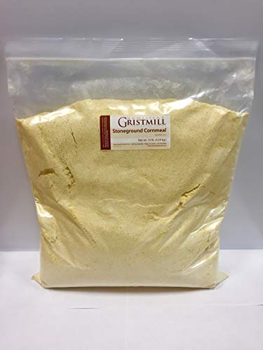 Homestead Gristmill — Non-GMO, Chemical-Free, All-Natural Stone-ground Yellow Cornmeal (10 lbs)