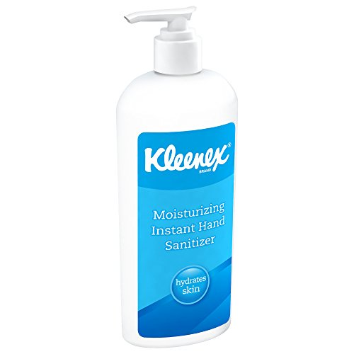 Kleenex Moisturizing Instant Hand Sanitizer (31294), No Rinse, 12 8 oz. Bottles/Case