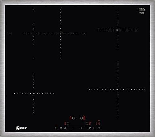 Neff T36BD60N1 Induktionskochfeld N70 / 60cm / TouchControl / Bräterzone / Glaskeramik / Edelstahlrahmen