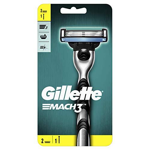 Gillette Mach3 - Maquinilla de afeitar para hombre + 2 cuchillas de repuesto