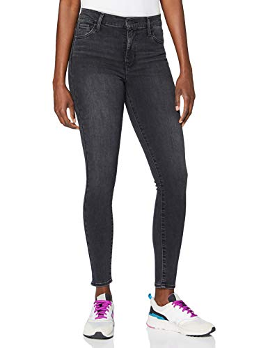 Levi's Damen 720 Hirise Super Skinny Jeans, Smoked Out, 28W / 28L