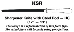Reed & Barton Longwood (Stainless) Sharpener Knife with Steel Rod HC