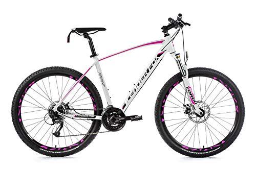 27,5 Zoll Alu MTB Fahrrad Leader Fox Damen Mountain Bike Shimano 21 Gang Scheibenbremsen Disc
