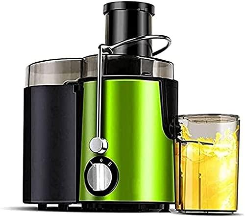 BRFDC Spremiagrumi Macchine da spremiagrumi centrifuga Estrattore di Succo di Succo con Big Bolfish 3'Feed Chute 304 Acciaio Inossidabile Fliter High Succo Succo Genere Facile da Pulire BPA- Gratuito