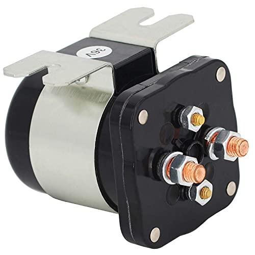 Weelparz 20468G1 114-3611-020 Nuevo 36V Solenoide de Arranque Interruptor de Relé 586-117111 para Yamah a Eléctrico G4 G8 G9 G11 G16 Taylo r-Dun n Modelo B-150 E-Z-G O Eléctrico 1989 Y Más