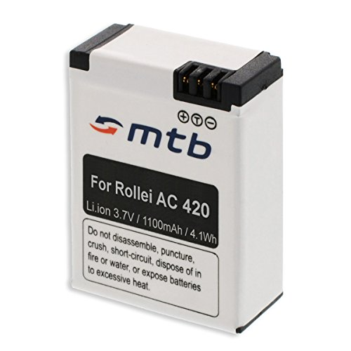 Ersatz-Akku für Rollei Actioncam AC 420