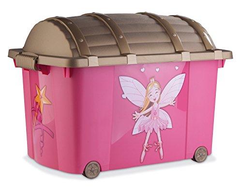Prinzessinentruhe, Pink, 57 Liter