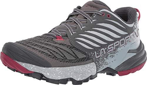 La Sportiva Akasha Women's Running Shoe, Carbon/Beet, 37