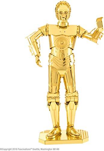 Professor PUZZLE Metal Earth Star Wars C-3PO Modelo Kit