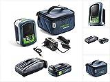 Festool Sysrock BR 10 DAB+ - Radio portátil (batería de ion de litio de 10,8 a 18 V, incluye 1 batería de 3,1 Ah y cargador)