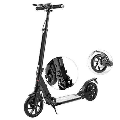 NQ-ChongTian Scooter no eléctrico - Plegable de Dos Ruedas Patinete Paso a...