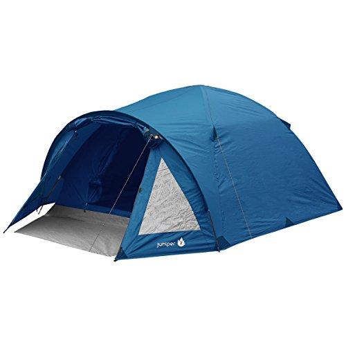 Highlander Juniper Tent - Blue, 4 Persons
