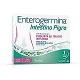 Enterogermina Intestino Pigro, integratore alimentare a base di probiotici, prebiotici ed estratti vegetali, per la regolarità del transito intestinale e l'equilibrio della flora batterica 10 bustine