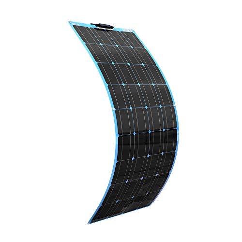 XINPUGUANG Panneau solaire souple 100W, couleur bleu