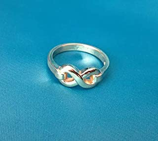 Infinity ring, Unique antique ring - The Symbol of Infinity, Infinity Jewelry | antique ring | Fine jewelry | Sterling Silver 925, Yellow, White, Rose Gold | Handmade | All sizes