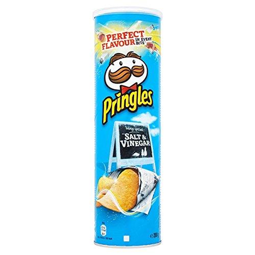 Pringles Salt & Vinegar 200g (Packung mit 6 x 200 g)