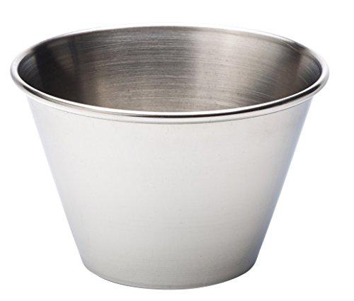 UTOPIA roestvrij stalen presentatiepannen, blikken emmer & kasserollen, f910520000, ovenschaal 113,4 g (11CL) (Box of 24)