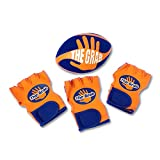 The Grab Football - Make Incredible One Handed Catches, Game of Catch and Throw Football Toy, Includes 3 Gloves