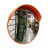 BISupply Safety Convex Mirror – 23 Inch Large Round Outdoor Mirror Blind Spot Mirror for Driveways, Stores, and Office