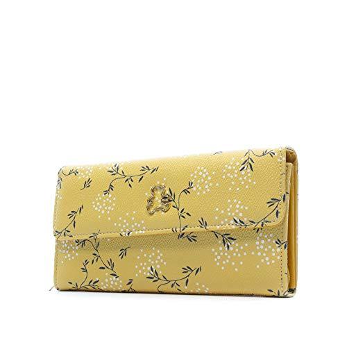 Lulu Castagnette Damen Geldbörse, Senfgelb, gelb (Gelb) - 43208_285004