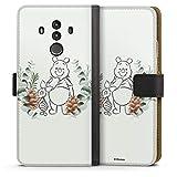 Étui Compatible avec Huawei Mate 10 Pro Étui Folio Étui magnétique Disney Winnie l'ourson...