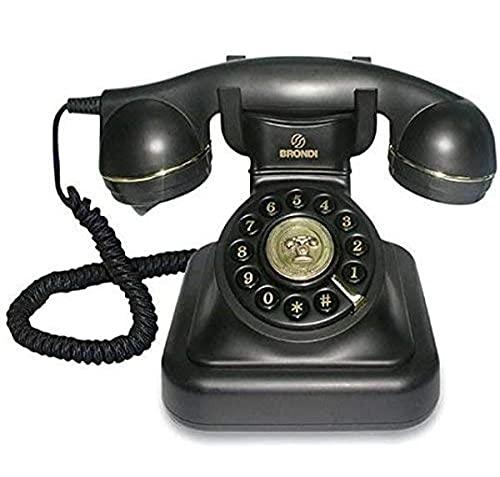 Teléfono Vintage 20 Negro - Teléfono (Negro)