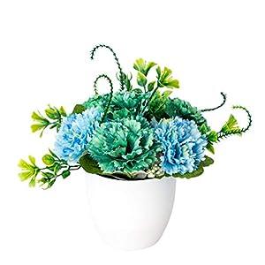 Silk Flower Arrangements Fake Lilac Bonsai Artificial Flower Faux Plants Pot Party DIY Cafe Shop House Living Room Decor