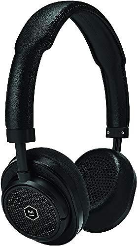 Master & Dynamic MW50 Wireless On Ear Headphones, Black Metal/Black Leather
