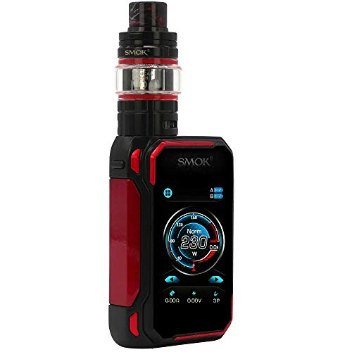 SMOK G-Priv 3 Kit 230 W, mit TFV16 Lite Tank 5 ml, Riccardo E-Zigarette, schwarz