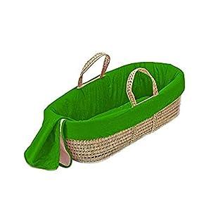 bkb Solid Color Moses Basket