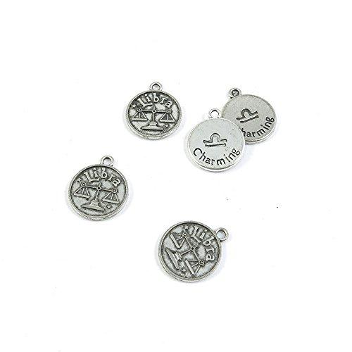 Antieke Zilveren Toon Sieraden Charms X1IL1Z Schalen Weegschaal Tag Craft Art Maken Crafting Kralen Antiek Zilver
