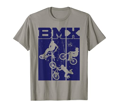 Acrobazie e acrobazie da pilota di BMX in bici fuoristrada Maglietta