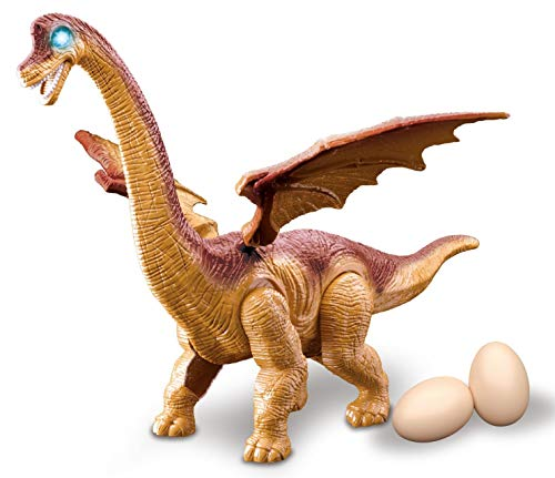Brachiosaurus Dinosaur Toy Walks and Lays Eggs