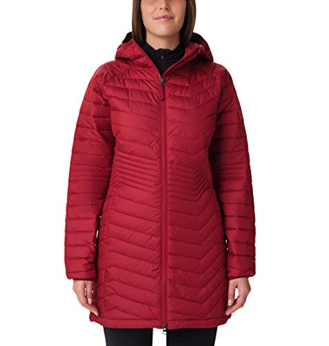 Columbia Powder Lite Mid Jacket Femme,Rouge (Beet),L