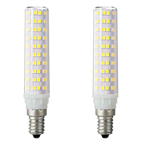 Noobibaba Lot de 2 ampoules LED 8 W E14 blanc froid 6000 K 230 V 75 W